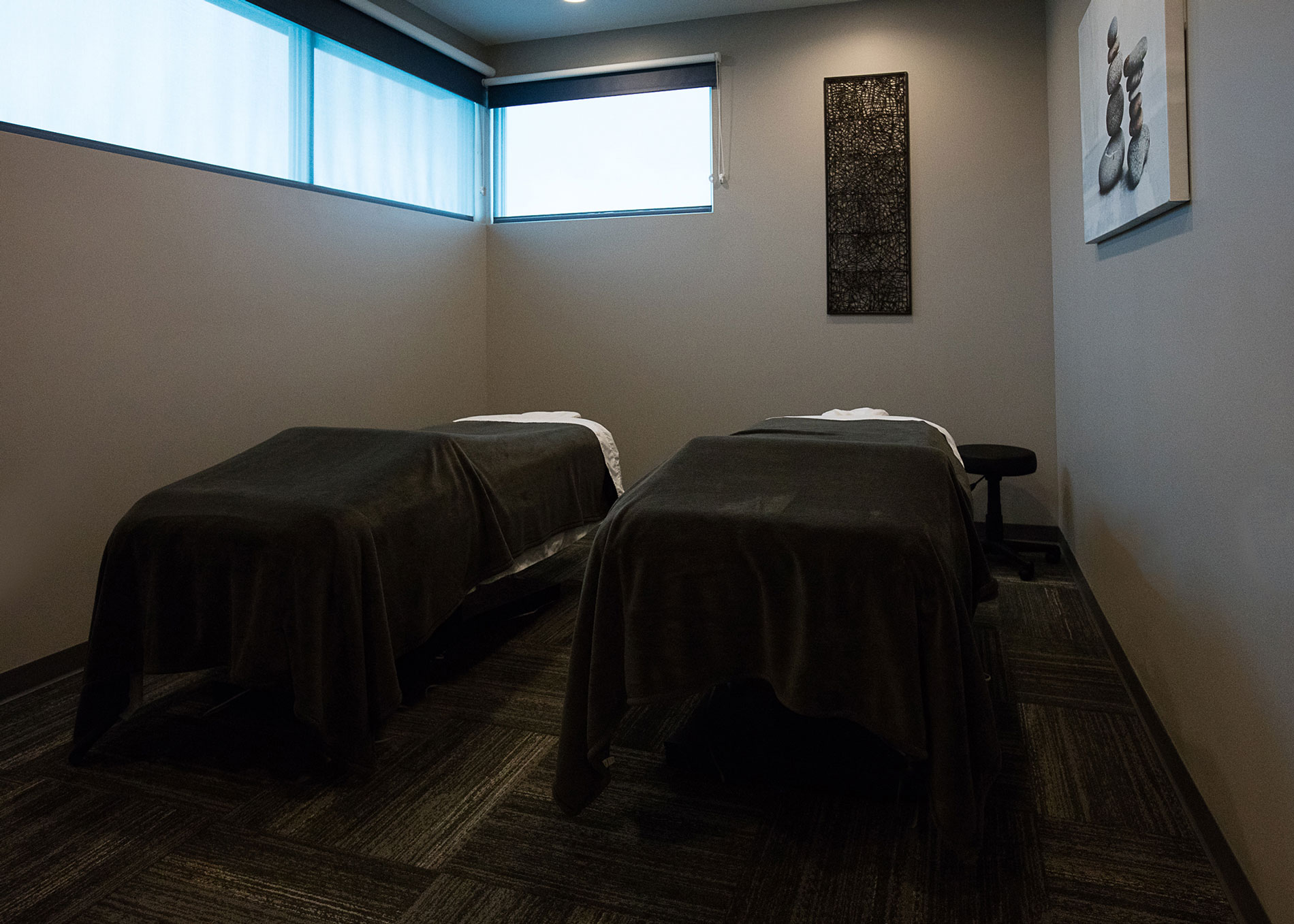 Ask about our relaxing Stress Fix Massage today!